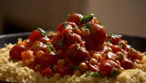 Chorizo & Chickpea Stew, Nigella Lawson