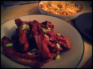 Chinese-Style Ribs with Coleslaw, Rachel Allen