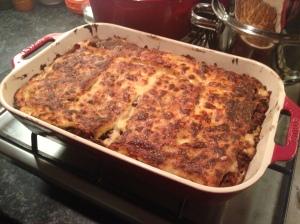 Beef and Wild Mushroom Lasagne, Rachel Allen