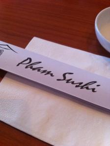 Pham Sushi, Whitecross Street