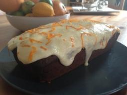 Earl Grey Tea Loaf with Orange Frosting
