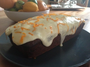 Earl Grey Tea Loaf with Orange Frosting