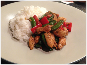 Thai Chicken with Basil & Chillies