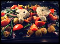 Baked Tuna Nicoise