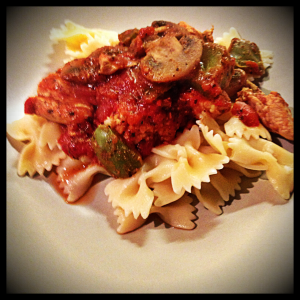 Chicken Cacciatore, Weight Watchers