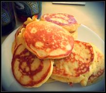 Orange Scotch Pancakes