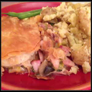 Chicken Pie Portion