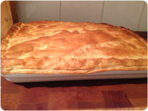 Chicken Pie with Leftover Roast Chicken