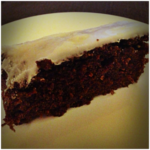 Fresh Gingerbread with Lemon Icing, 'How to Be a Domestic Goddess', Nigella Lawson